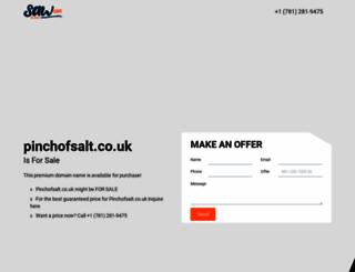 pinchofsalt.co.uk screenshot