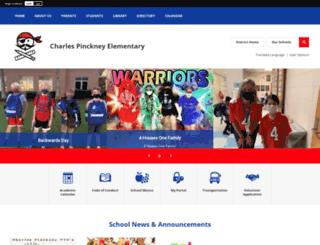 pinckney.ccsdschools.com screenshot