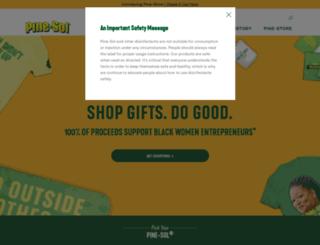 pine-sol.com screenshot