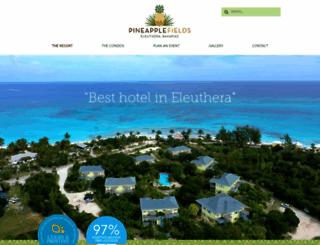 pineapplefields.com screenshot