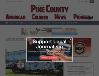 pinecitymn.com screenshot