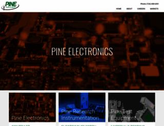 pineinst.com screenshot
