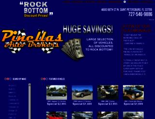 pinellasautobrokers.net screenshot