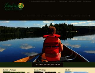 pinevista.com screenshot