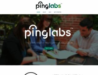 pinglabs.co screenshot