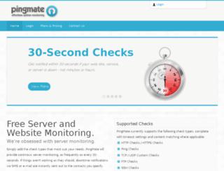 pingmate.com screenshot