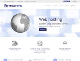 pingpipe.com screenshot