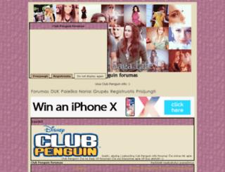 pingvinuklubas.openu2.com screenshot