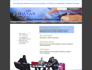 pinhawk.com screenshot