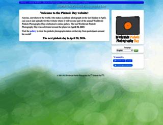 pinholeday.org screenshot