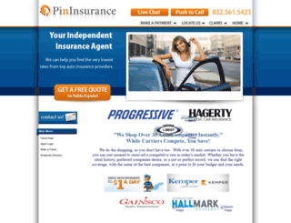 pininsured.com screenshot