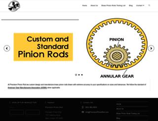 pinionrods.com screenshot