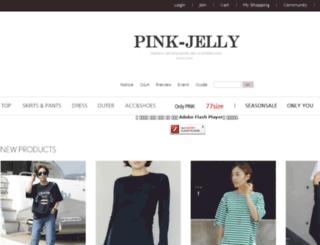 pink-jelly.com screenshot