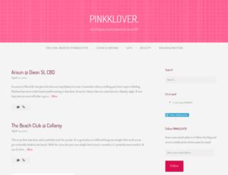 pink-klover.com screenshot