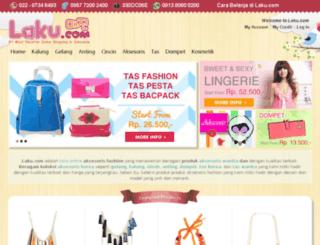 pink.laku.com screenshot