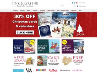 pinkandgreene.com screenshot