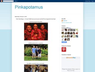 pinkapotamus.blogspot.com screenshot