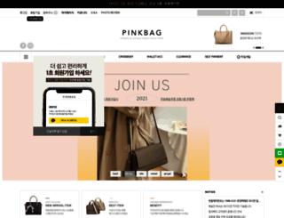 pinkbag.co.kr screenshot