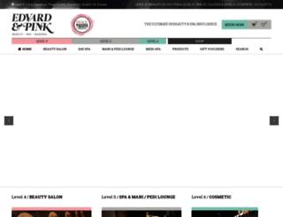 pinkbeautyemporium.ie screenshot