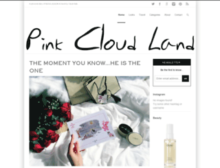 pinkcloudland.com screenshot