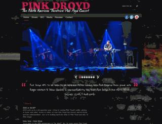pinkdroyd.net screenshot