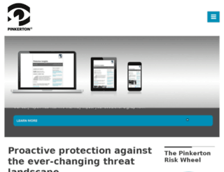 pinkertonindia.com screenshot