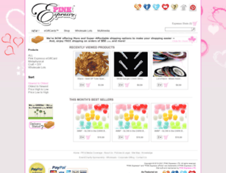 pinkespresso.com screenshot