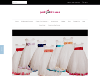 pinkgirldresses.co.uk screenshot