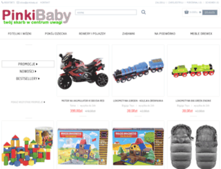 pinkibaby.pl screenshot