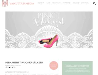 pinkitkorkokengat.fi screenshot
