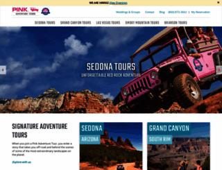 pinkjeeptours.com screenshot