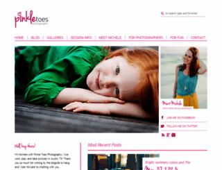 pinkletoesblogstalker.com screenshot