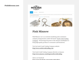 pinkminnow.com screenshot