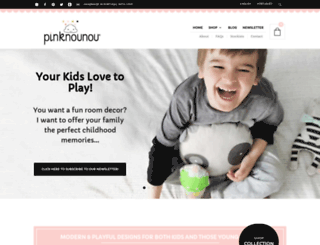 pinknounou.com screenshot