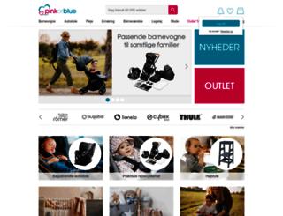 pinkorblue.dk screenshot
