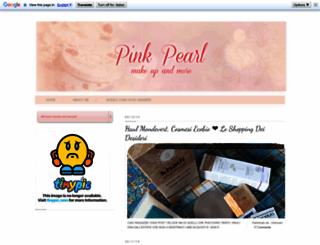 pinkpearlmakeup.blogspot.it screenshot