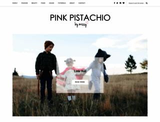 pinkpistachio.com screenshot