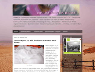 pinkpoisononpaleo.blogspot.ie screenshot