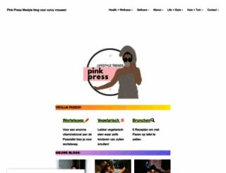 pinkpress.nl screenshot