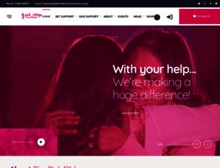 pinkribbonfoundation.org.uk screenshot