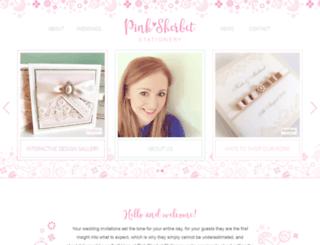 pinksherbetdesigns.co.uk screenshot