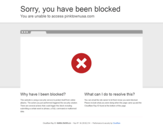pinktownusa.com screenshot