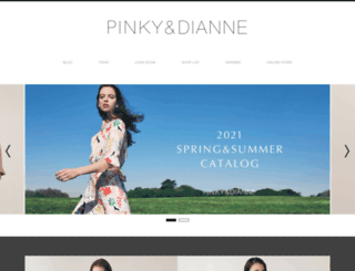 pinkyanddianne.com screenshot