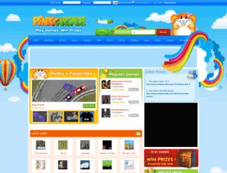 pinkyarcade.com screenshot
