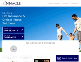 pinnacle.digitallapps.com screenshot