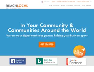pinnaclecabinrental.reachlocal.net screenshot