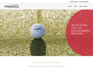 pinnaclegolf.com screenshot