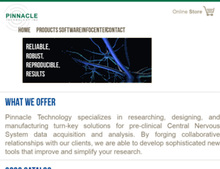 pinnaclet.com screenshot