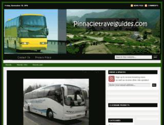 pinnacletravelguides.com screenshot