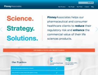 pinneyassociates.com screenshot